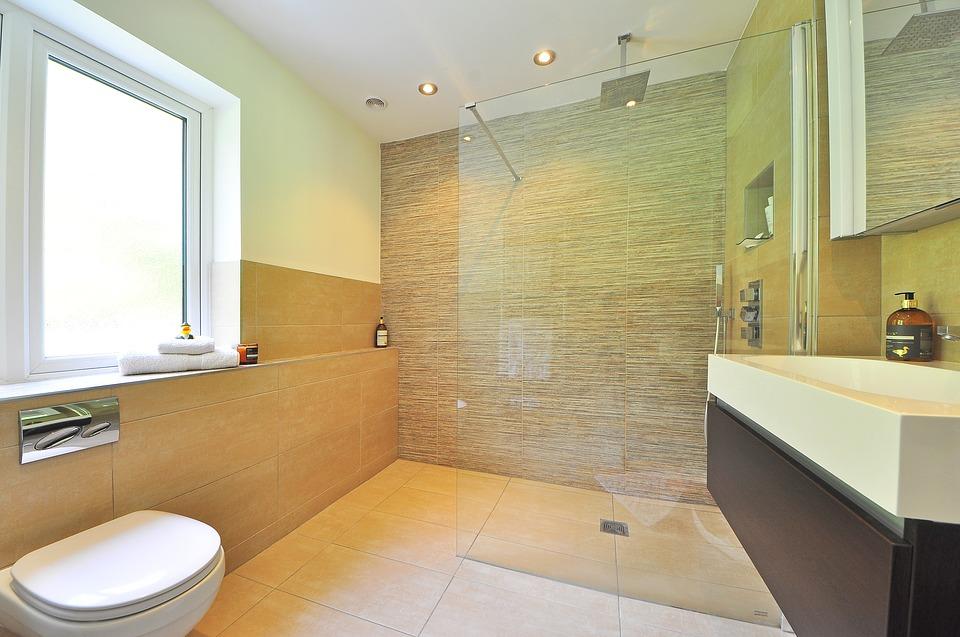 Rainfall Showerhead bathroom