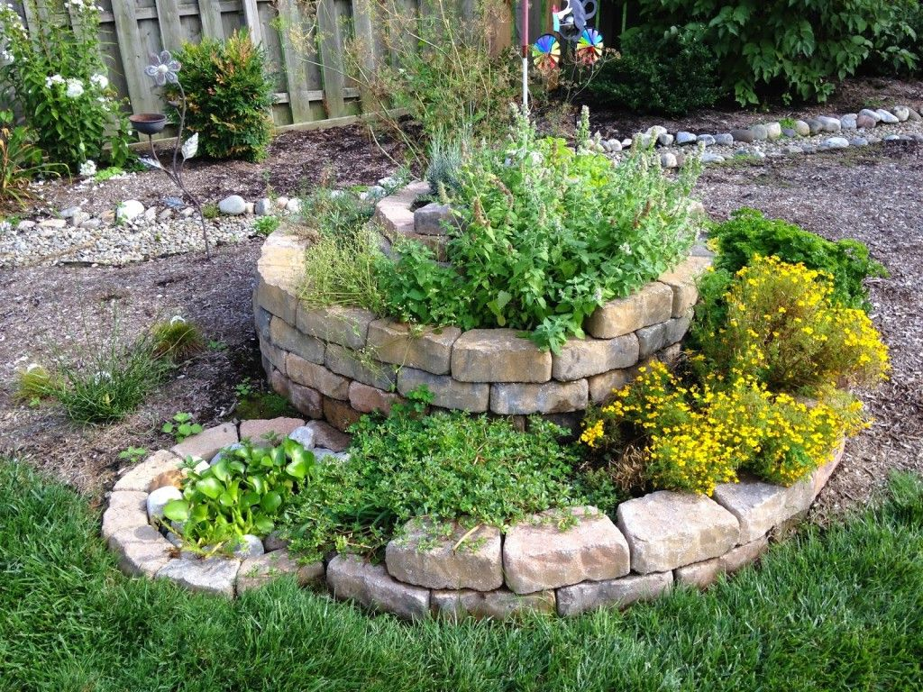 8 Impressive Ways to Growing more in Your Garden Space - Utilize Hills and Spirals.jpg