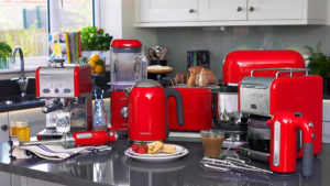 Red Kitchen Appliances: Exceptional Kitchen for Exceptional People