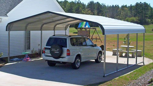 Image result for carport styles metal
