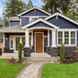 home appearance with exterior upgrades