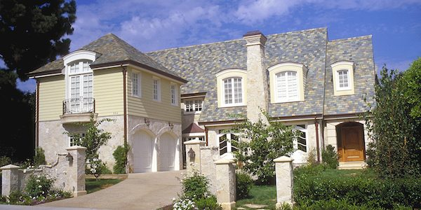 Image result for house with Built Up Roofing