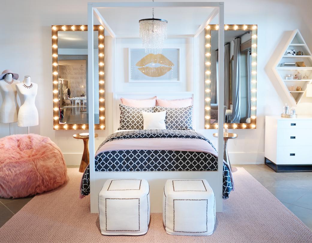 bedroom into a teen's sanctuary